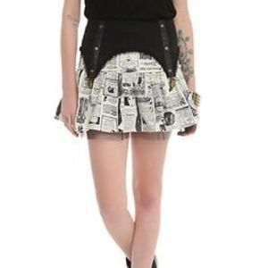 Hot topic Steampunk skirt